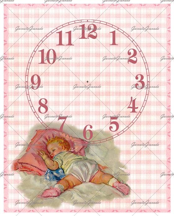 Polipiel Reloj Bebé Niña