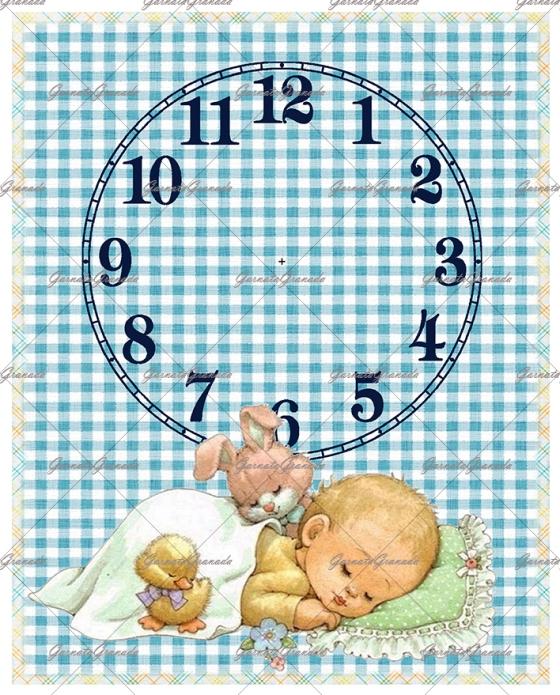 Polipiel Reloj Bebé Niño