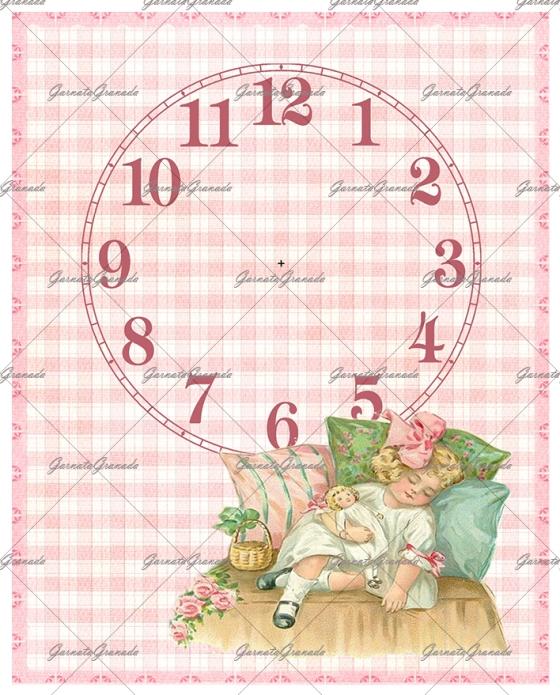 Polipiel Reloj Niña