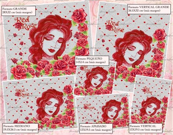 Polipiel Red Rose
